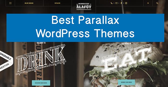 Best parallax WordPress Themes